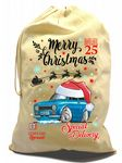 X-Large Cotton Drawcord Koolart Christmas Santa Sack Stocking Gift Bag & Mk1 Escort RS Mexico Image